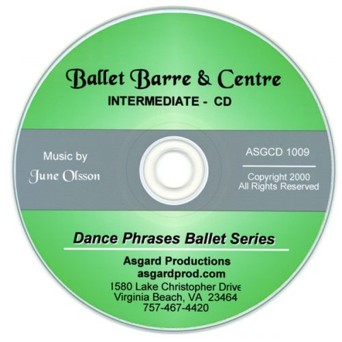 Ballet Barre & Centre Vol 3