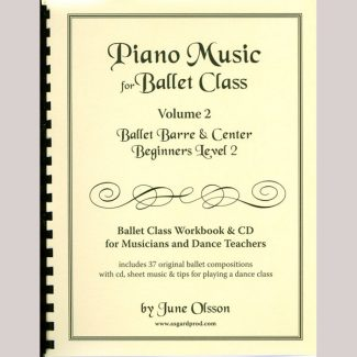 Piano Music for Ballet Class Vol 2