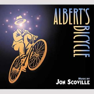 Albert's Bicycle - by Jon Scoville