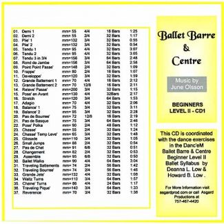 Ballet Barre & Centre CD2-s