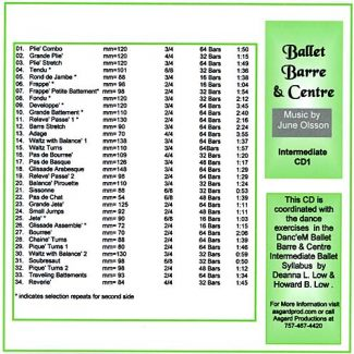 Ballet Barre & Centre CD3