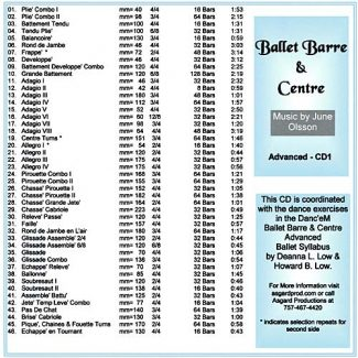 Ballet Barre & Centre CD 5