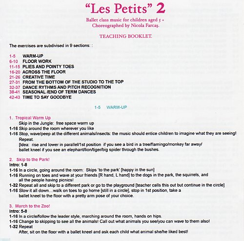 Les petits 2 teaching booklet by Nolwenn Collet