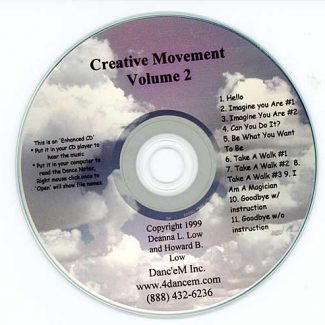 Creative Movement Volume 2