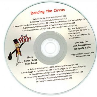 Creative Movement Vol 5 Dancing at the Circus by Deanna Low