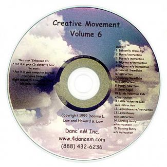 Dancing the Calendar - Creative Movement Vol 6 by Danc'em