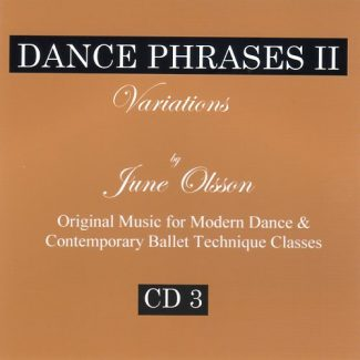Dance Phrases CD3 - Variations