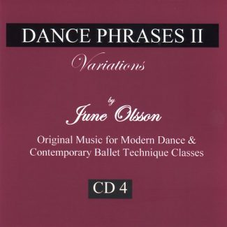 Dance Phrases CD4 - Variations