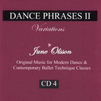 Dance Phrases CD4 - Variations