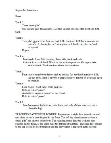 BB&C Intermediate Syllabus sample page