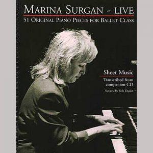 Marina Surgan Live - Sheet Music Book