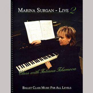 Marina Surgan Live 2 sheet music book